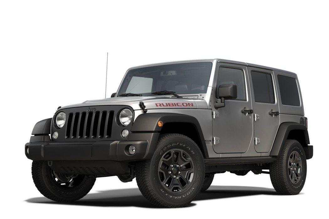 Jeep Wrangler Rubicon X,採用3.6升V6引擎,提供285...