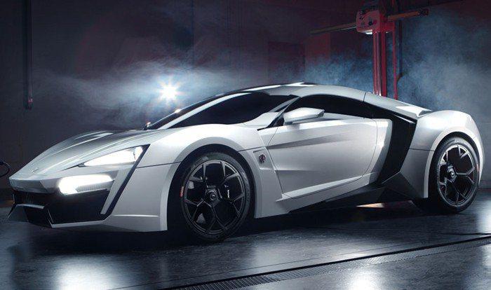 由阿拉伯聯合大國車廠W Motors所打造的LykanHypersport,全球...