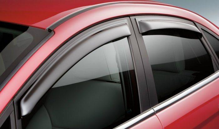 國人習慣加裝的晴雨窗可能會破壞原廠的空力設計,導致風切聲增加;至於改裝部品常見的空力套件、尾翼等等,主要是為了視覺美觀,對於空氣力學效益不一定能帶來幫助。 官方提供