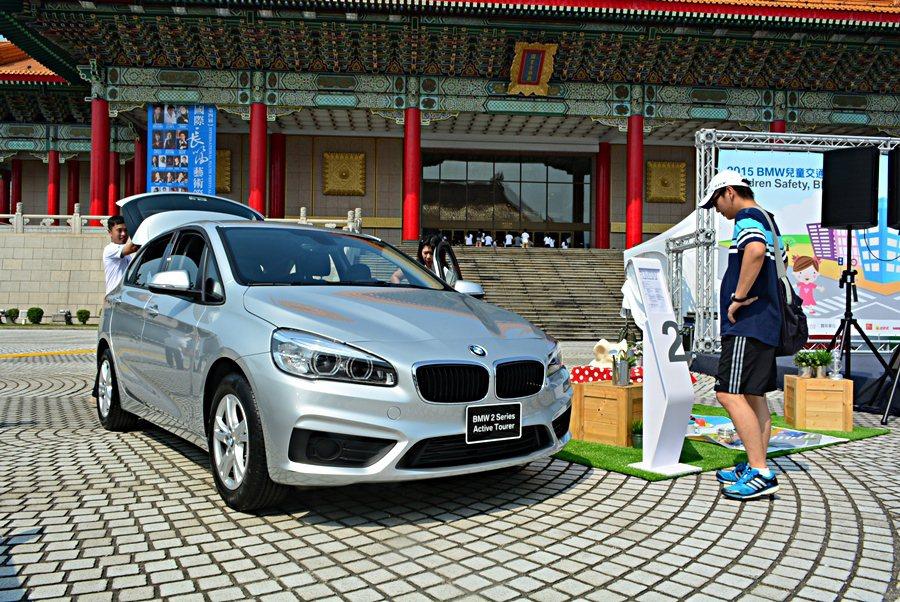 此外,活動現場也展示BMW新推出最適合親子共乘的BMW 2 Series Gra...