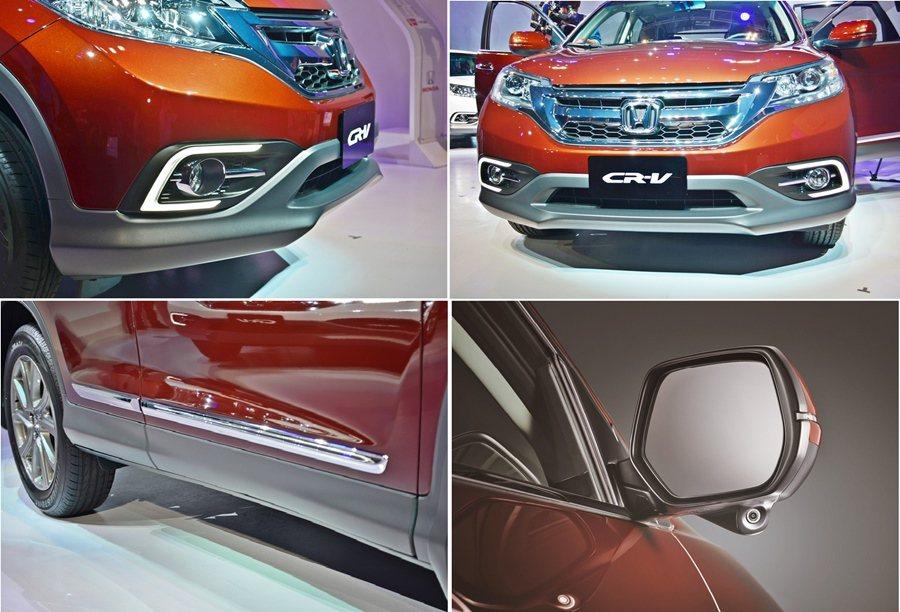 車尾加了鍍鉻飾條,2.4 VTi-S以上車型也追加後擾流翼,強化車尾的運動風格,...