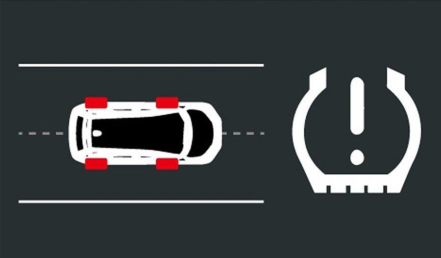 全車系也配備TPMS胎壓異常警示系統,它係採免電池且無線路的先進監控系統,胎壓異...