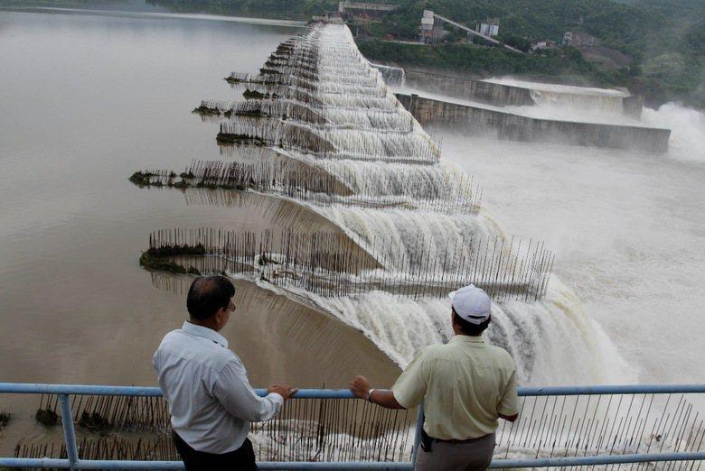 印度納瑪達水壩。圖/美聯社