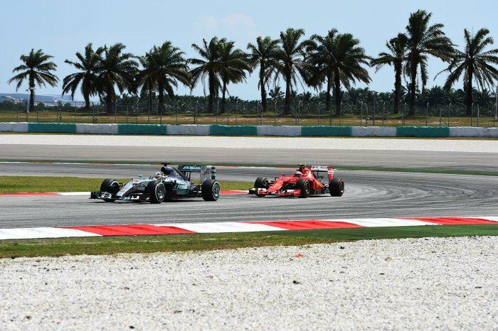 法拉利車手Raikkonen表示馬來西亞的氣溫對他們有利,加上賽車的動力及底盤表...