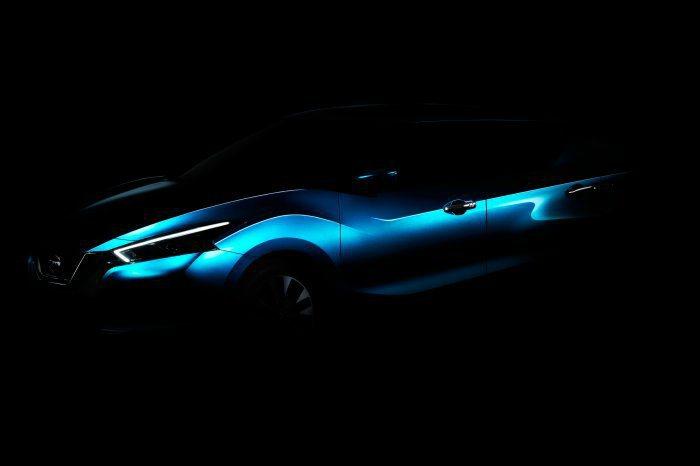 Nissan於官網上公佈Lannia量產車型的局部定裝照,大抵為持概念車樣貌。 ...