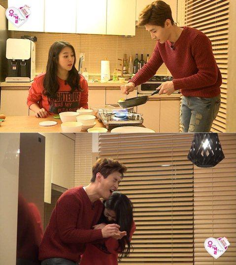 明晚(4月18日)即將播出的MBC TV綜藝節目《我們結婚了4》中,Henry(Super Junior-M成員)為在「妻子」金藝媛面前耍帥上演噴火秀卻不小心燒了劉海。新一期中,Henry招待金藝媛...