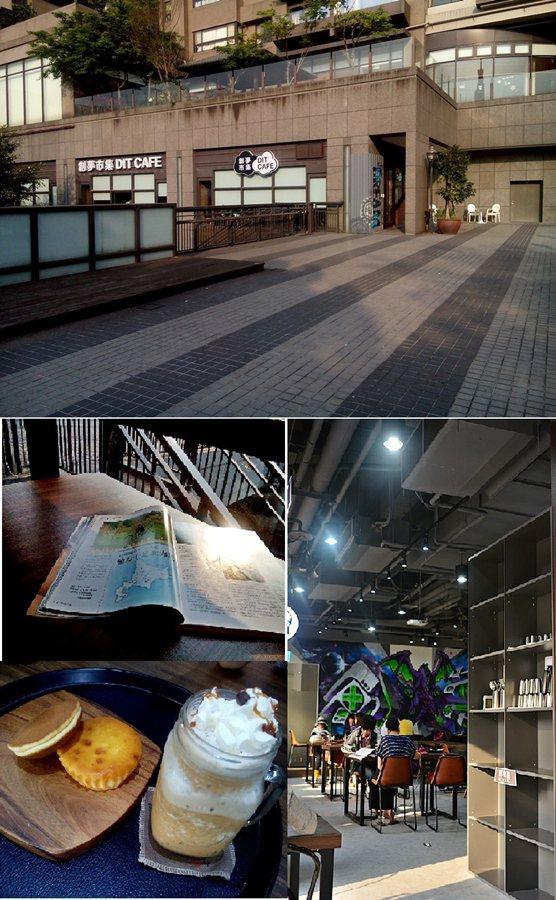 漫思茶位在捷運新店站二樓面向水岸的後棟,提供精緻茶飲與咖啡,店內簡約陳設讓人不禁想要踡臥鬆懈。 記者趙惠群/攝影
