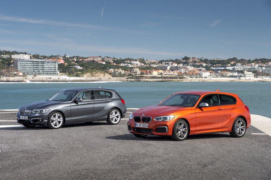 全新二代1系列,換上低扁修長的LED頭燈,並有更立體且比例放大的BMW雙腎形水箱護罩,另有全新L形LED尾燈,時尚氣息更甚於以往。 BMW提供