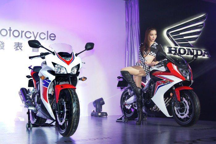 Sport車型提供CBR500R、CBR650F等車款。 記者林翊民/攝影