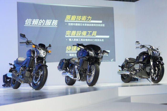 CTX700N、CTX1300以及GOLDWING F6C將於6月份引進販售,四...