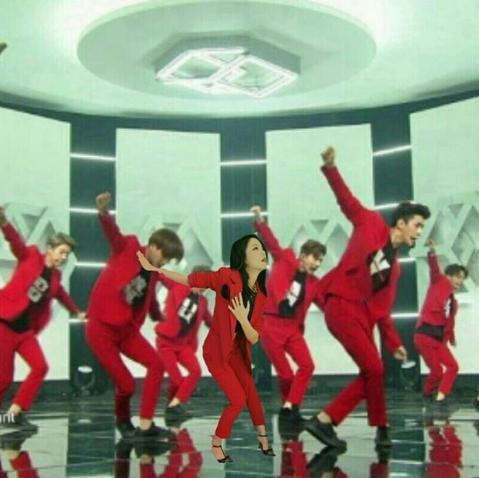 即將來台演唱的南韓男子團體EXO又增加新成員了嗎?而且還是個長髮飄逸的成員?不是啦~原來是韓國女星申寶拉,前幾日將自己上音樂節目的照片PO上推特,巧合的是,她當天的造型跟EXO的服裝簡直一模一樣,於...