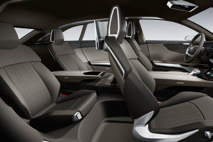 Prologue Allroad Concept座艙採獨立四座設定。 Audi提...
