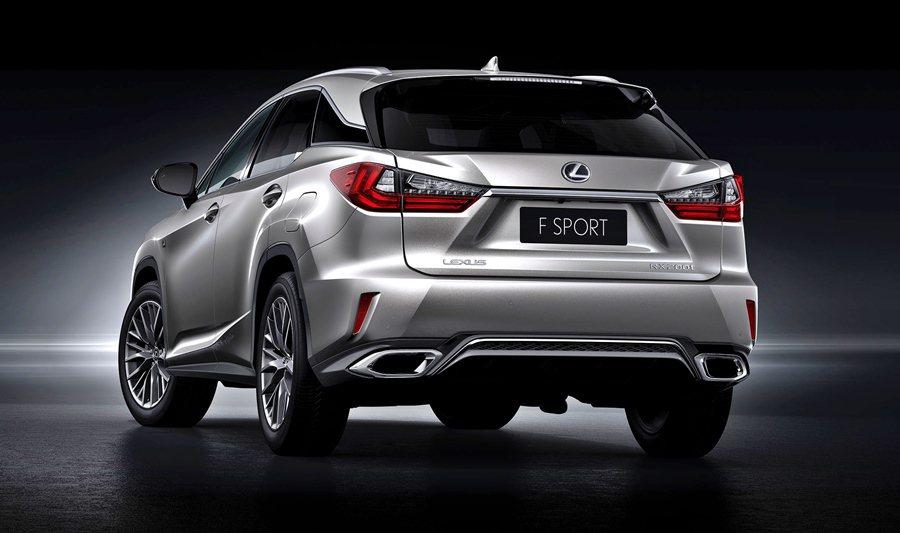 同台的還有RX車系,全車系也有RX F SPORT運動化套件可選配。 Lexus提供