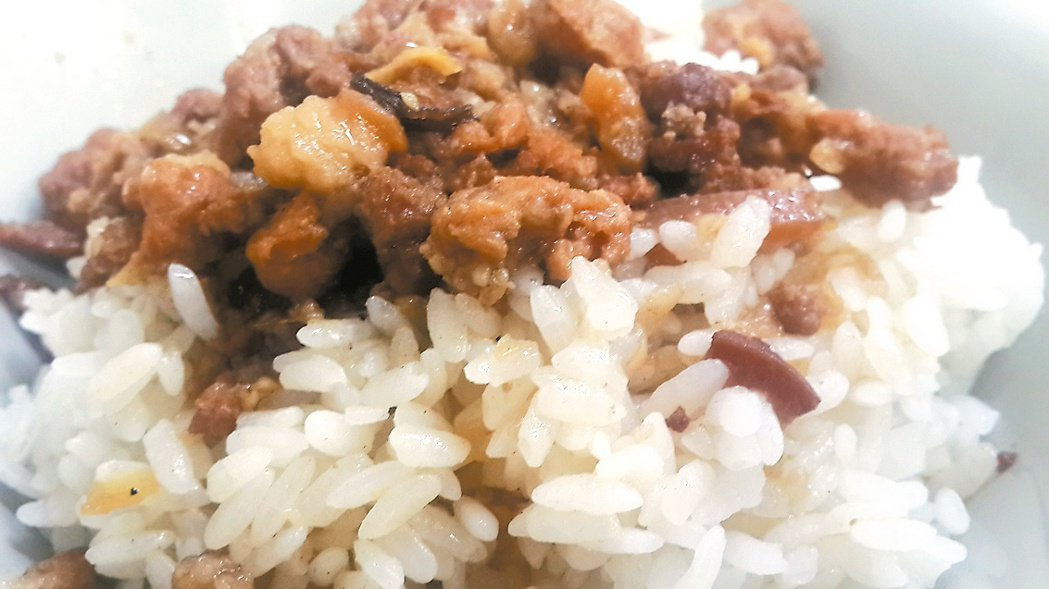 「肉燥飯」源自中國古代典籍,而非「正宗台灣小吃」? 記者陳俊智/攝影