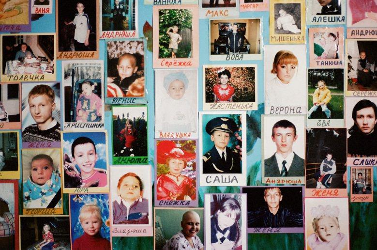 曾在安寧中心度過生命最後一些日子的兒童。 圖/林龍吟