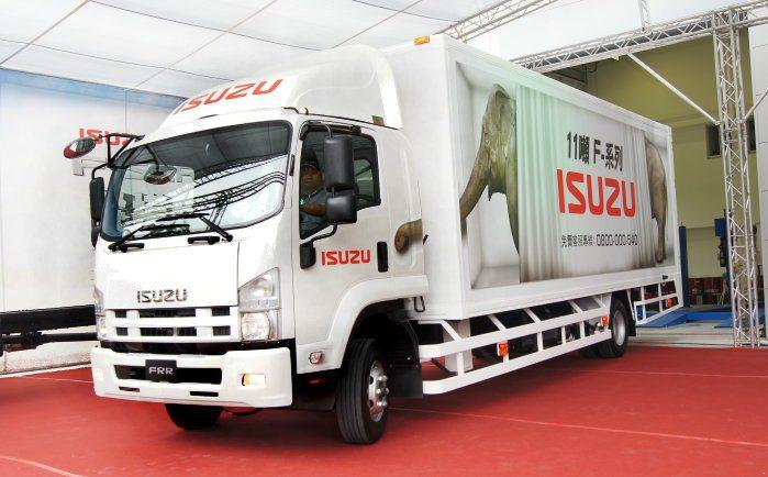 Isuzu總代理合眾汽車於4/24日在台北舉辦首場F系列展售會,現場也邀請號角響起站台。 記者林翊民/攝影