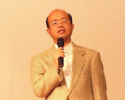 實踐大學管理學院院長黃博怡。 曹佳榮/攝影