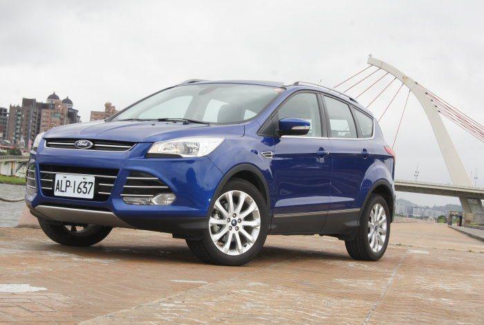 面對這場SUV戰役Ford推出Kuga 1.5 Ecoboost應戰,主打節能與性能兼顧。 記者林翊民/攝影