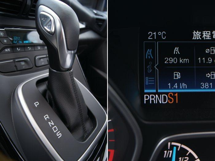 搭載六速手自排變速箱,並具備S模式及手動換檔。 記者林翊民/攝影