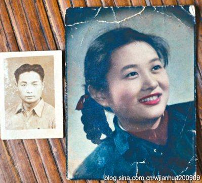 圖為妻子顧利群一九四八年的照片。 圖/祝健提供、取自網路