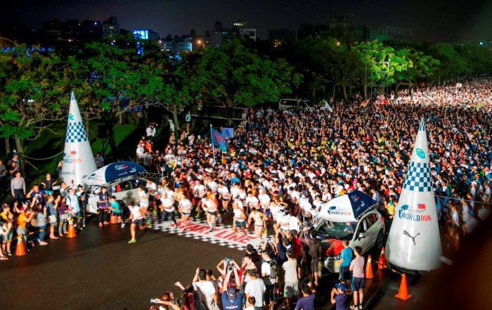 當天吸引5000名跑者前往宜蘭參予此次比賽。 Subaru提供