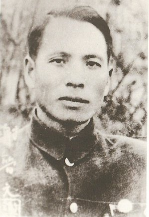 四行倉庫謝晉元團長 圖/淞滬抗戰館提供