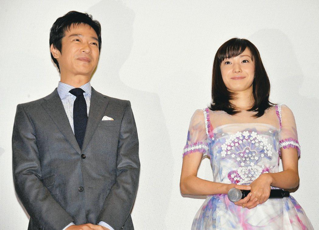 菅野美穗與日本男星堺雅人結婚生子後,去年重返工作崗位。 圖/聯合報系資料照