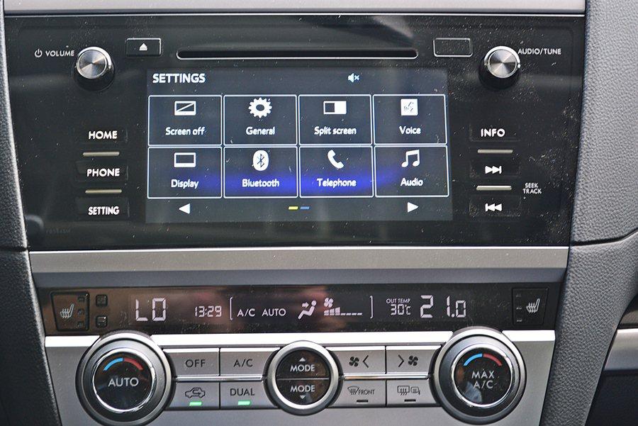 中控台也具備豐富的數位娛樂功能,結合7吋LCD多點觸控螢幕,內建CD音響和藍牙與...