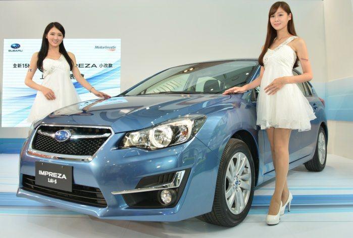 小改款Impreza外型更加年輕,擺脫舊款平實的設計風格。 記者林翊民/攝影