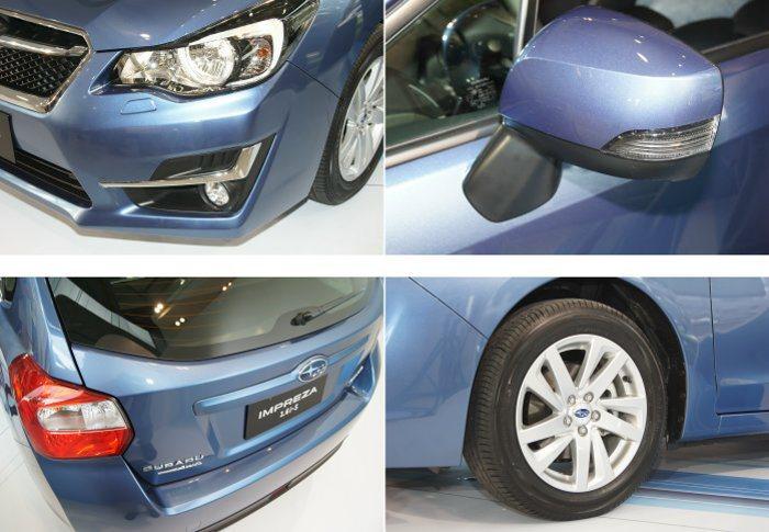 小改款Impreza不僅外型更為精緻,內裝配備質感也一併提升。 記者林翊民/攝影