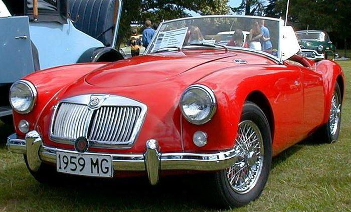 外型圓滑可愛的MG Magnette MK Ⅲ吸引天后蔡依林目光,出產於1959...