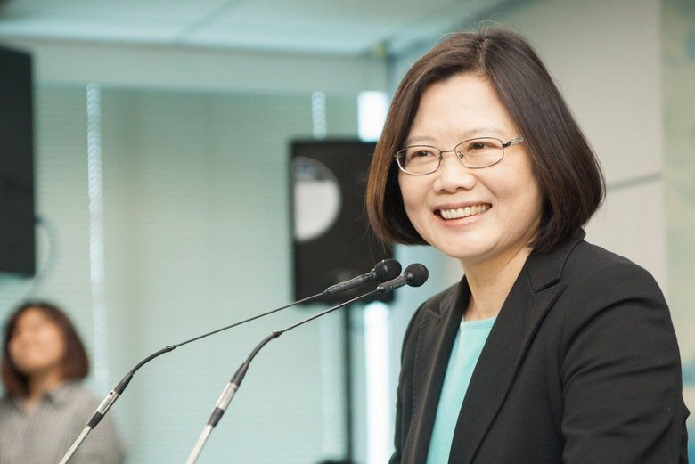 photo cedit:蔡英文 Tsai Ing-wen