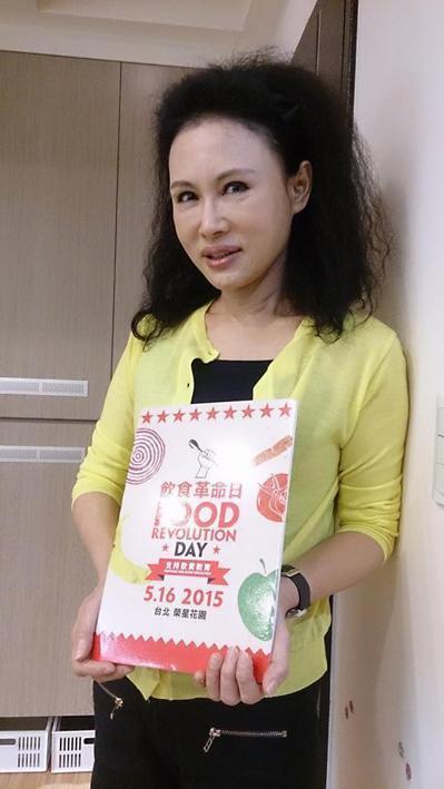 譚敦慈強調,吃真食物是面對食安風暴最好的自保之道。 圖/記者韋麗文攝影