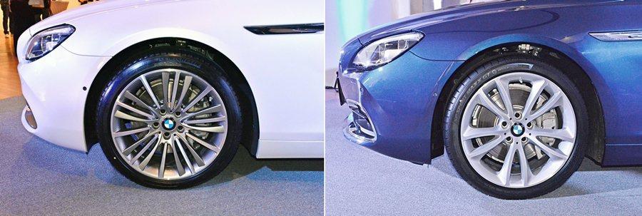 車側輪圈升級為19吋,並依車型不同,有兩種不同設計風格的鋁圈。 記者趙惠群/攝影