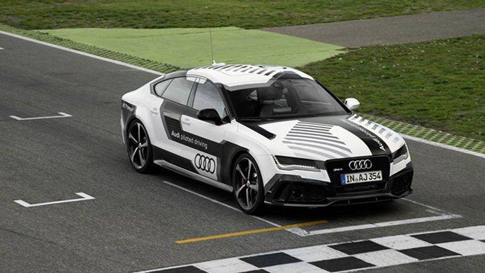 無人駕駛概念車Audi RS 7 piloted driving,也曾德國赫根漢...