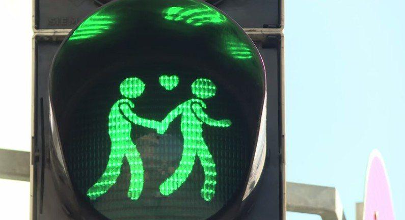 小綠人變小情人!一起來街頭放閃吧!