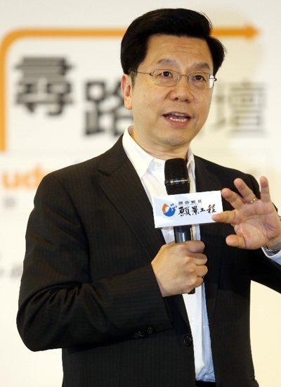 創新工廠董事長兼首席執行官李開復。 記者 林俊良/攝影