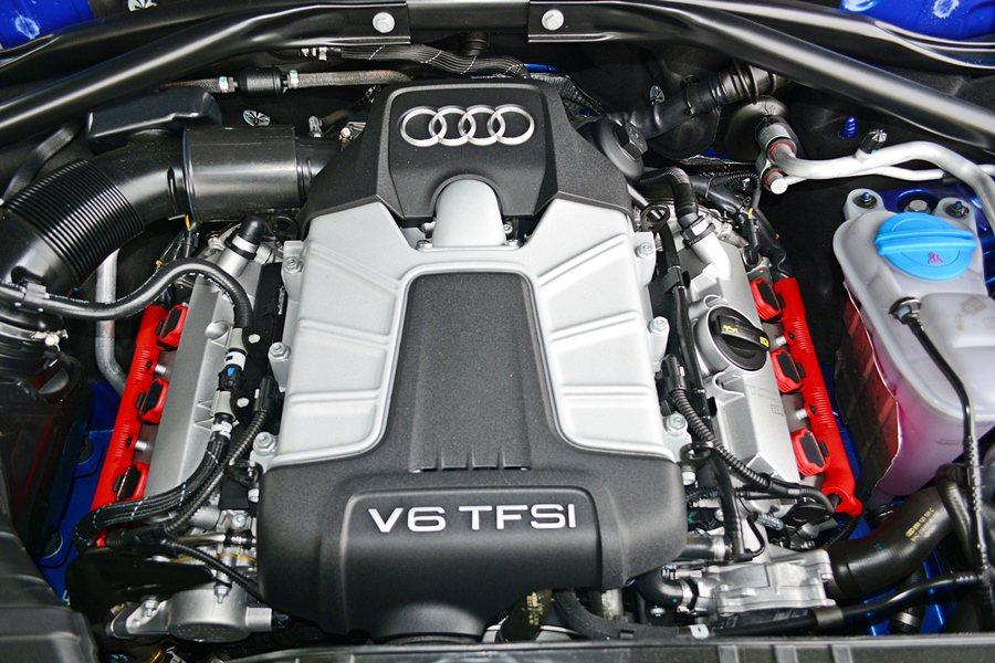 SQ5的動力是成熟化的V6 TFSI引擎,加上機械增壓帶來高縮比,創造47.9公...