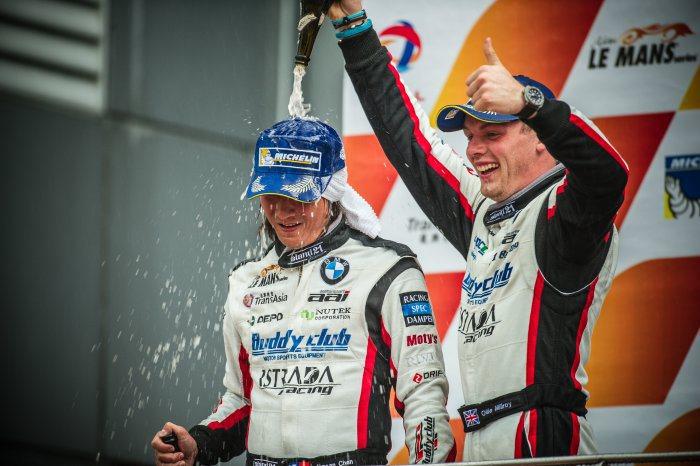 aai車隊在2014年出征亞洲Le Mans 利曼耐久系列賽事中,囊括「車隊」與...