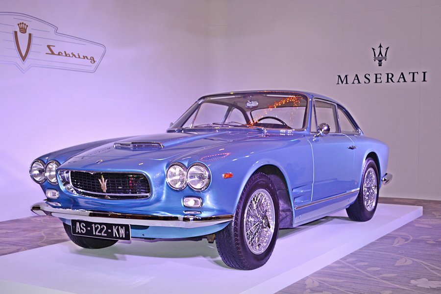 5月21日,Maserati的總代理也推出一台狀況超好的經典GT老車Sebrin...
