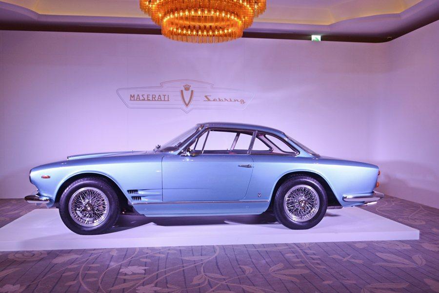 Sebrign 3500 GT前車主是一位荷蘭的收藏家,由台灣蒙地拿的總經理宋牧...