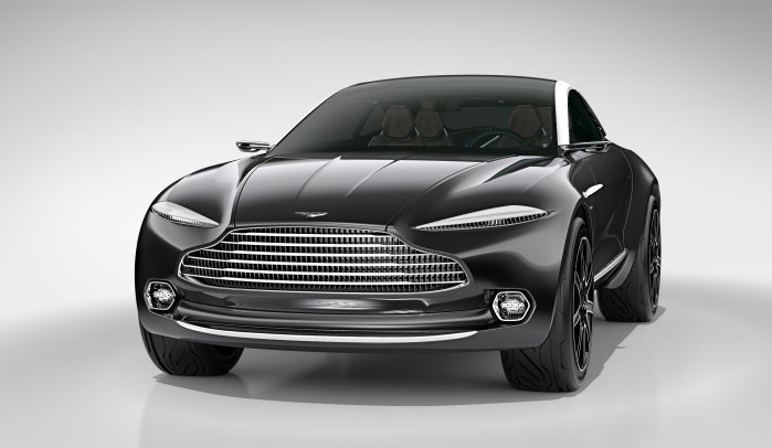 Aston Martin DBX Concept。 摘自Aston Martin
