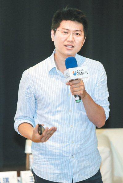 「foundi房地資訊站」創辦人鄭依桓。  記者黃士航/攝影