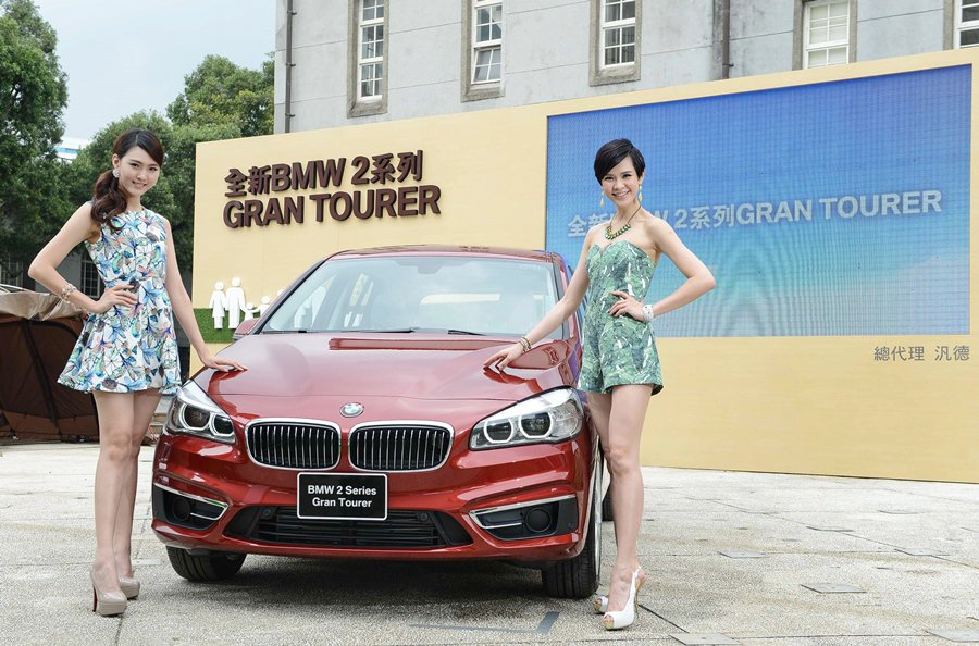 BMW去年推出簡稱2 AT的2 Series Active Tourer,全球狂...