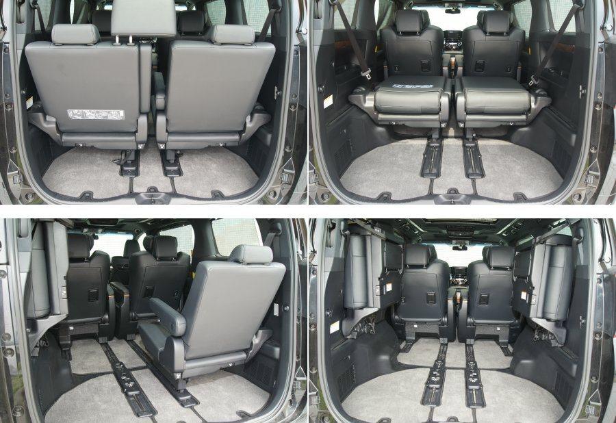 七座模式下後方行李廂空間所剩無幾,但透過豐富的座椅調整機能,亦可提供不俗的置物空間。 記者林翊民/攝影