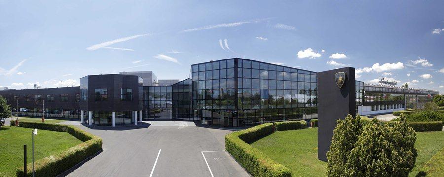 Lamborghini全新SUV休旅車將在該車廠位於波納總部所在的生產基地量產。 Lamborghini提供