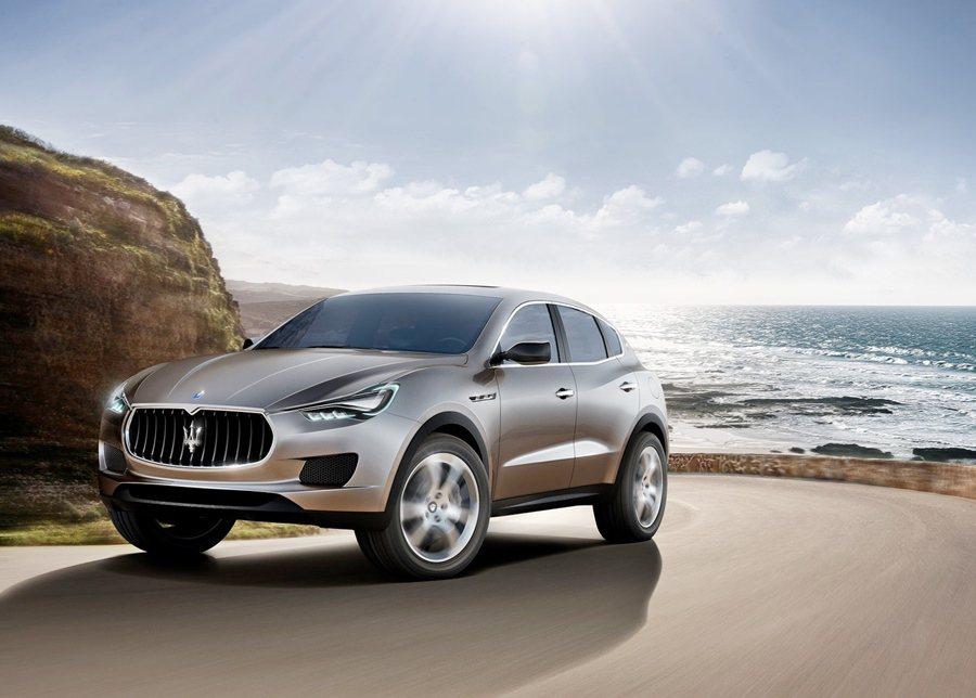 Maserati曾發表休旅概念車Kupang,而隨後再以Kupang為基礎推出L...