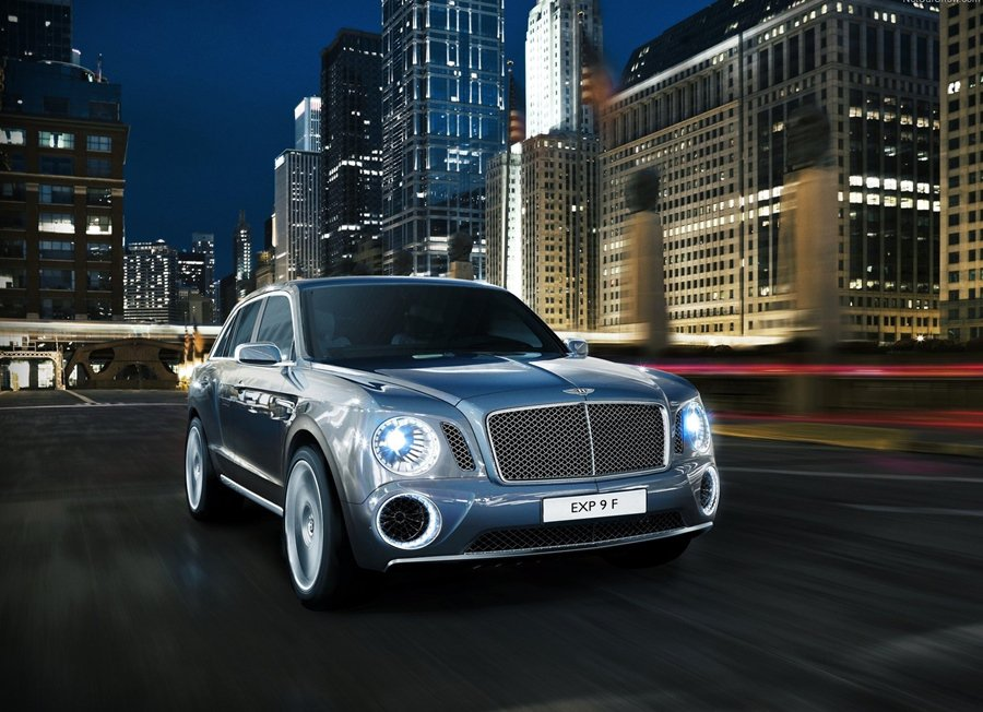 Bentley曾於2012年發表了EXP 9 F概念休旅車,預計2016年量產。 Bentley提供