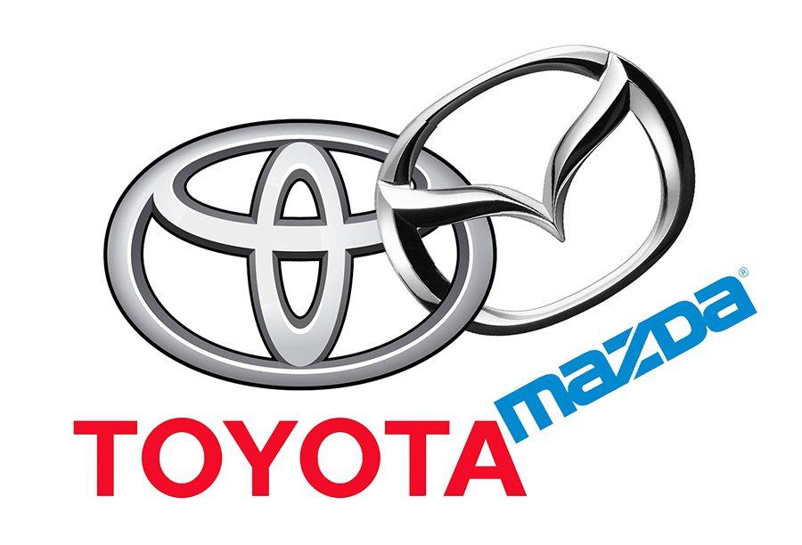 日本 Toyota Motor Corp豐田汽車與 Mazda馬自達汽車於5月1...