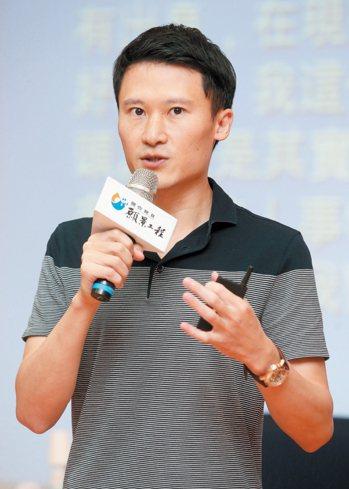 飛虹國際整合行銷公司總經理謝銘杰。 記者胡經周/攝影